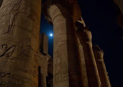 Colonne del tempio a Luxor, Egitto