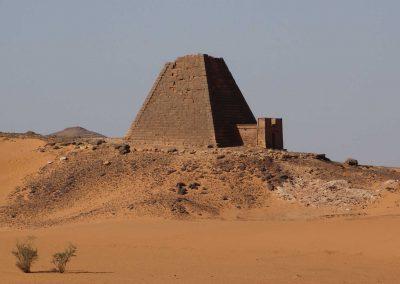 Piramide a Khartoum, Sudan