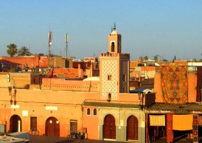 Panorama di Marrakech, Marocco
