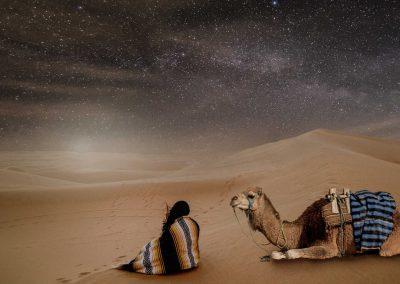 Notte nel Sahara