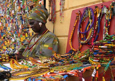 Mercato a Saint Louis, Senegal