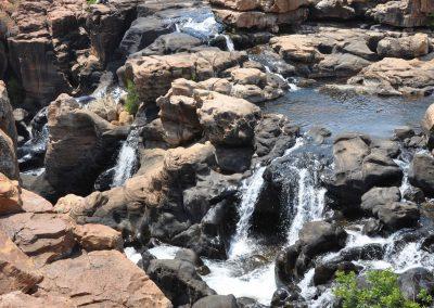 Strada panoramica in Sudafrica